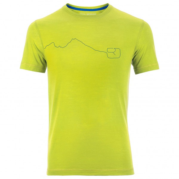 Ortovox - Merino Cool Print Mountain Short Sleeve - T-paidat