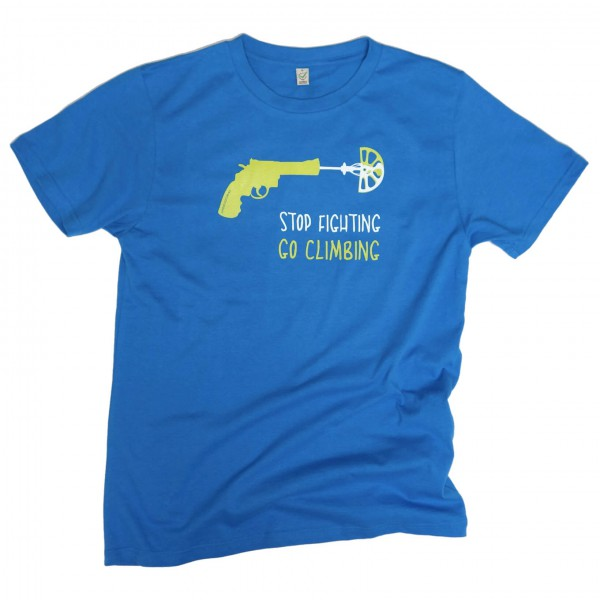 Blue Ice - T-Shirt 02 Go Climbing - T-paidat