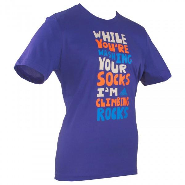 Adidas - ED Slogan Tee - T-paidat