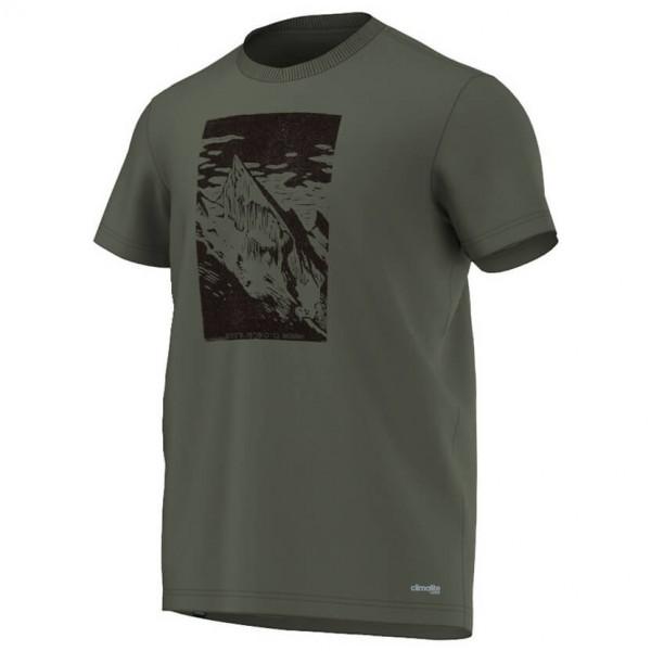 Adidas - HT Mountain Tee - T-paidat