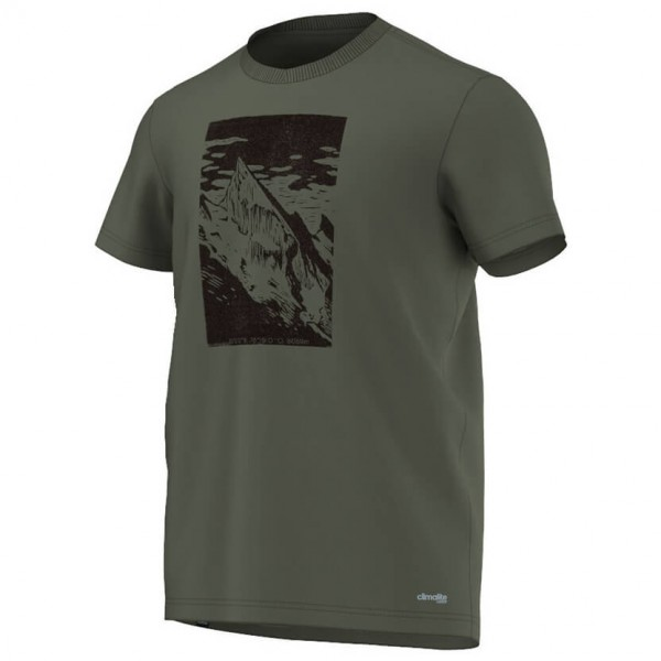 Adidas - HT Mountain Tee - T-shirt