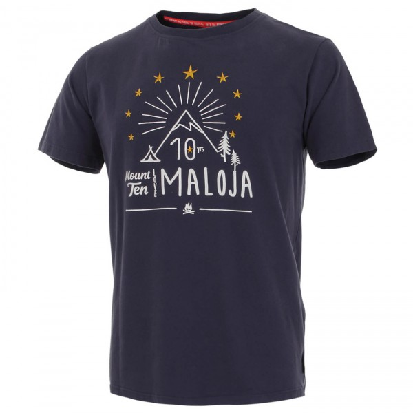 Maloja - Ten Years T-ShirtM. - T-paidat