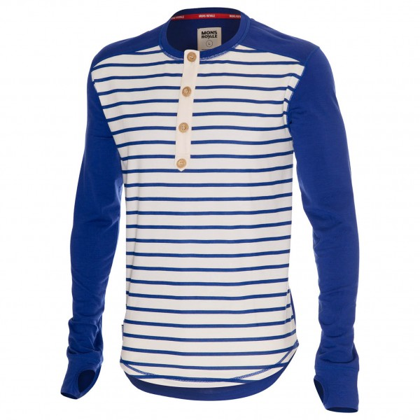 Mons Royale - The Henley - Longsleeve