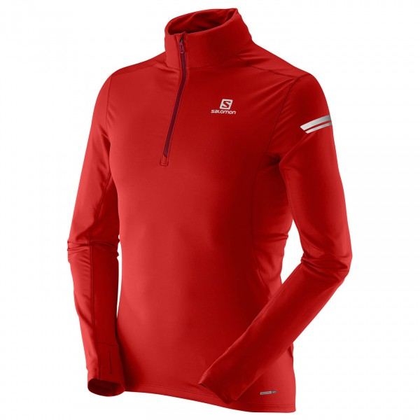 Salomon - Agile 1/2 Zip Mid - T-shirt de running