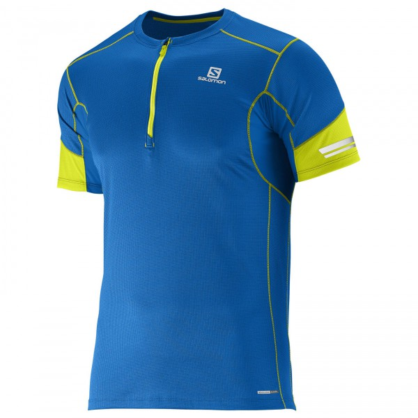 Salomon - Agile 1/2 Zip S/S Tee - Running shirt