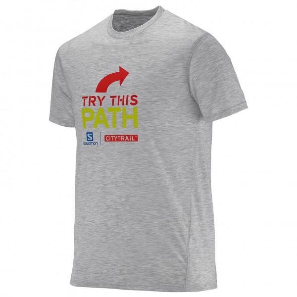 Salomon - Elevate Graphic Tee - Running shirt