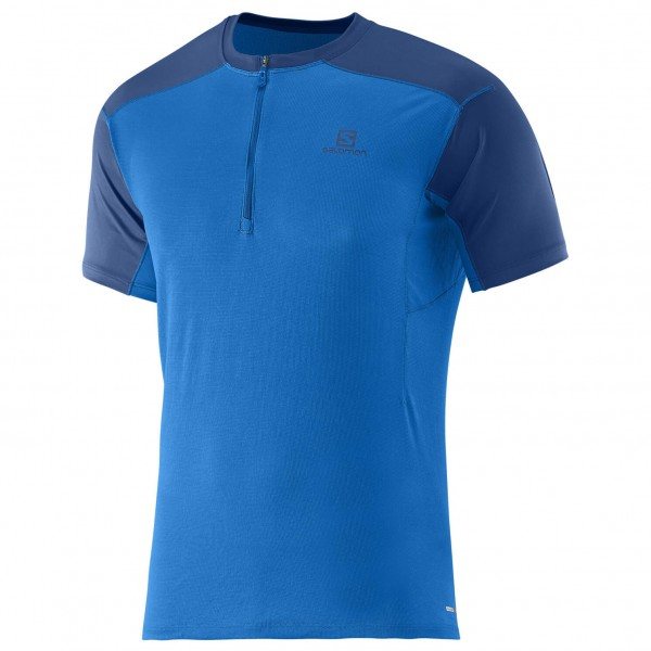 Salomon - Minim Evac Zip Tee - T-shirt