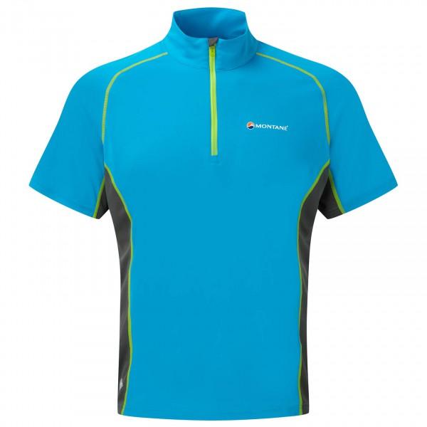 Montane - Sonic Ultra Zip T-Shirt - Laufshirt
