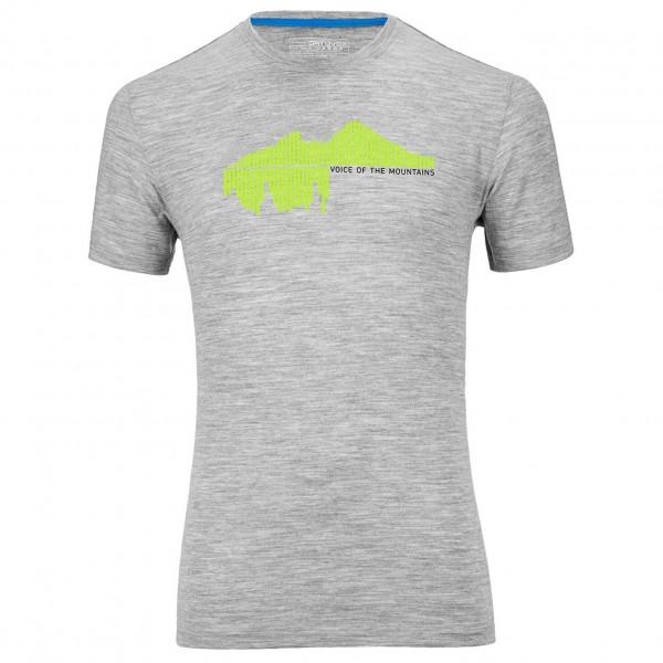 Ortovox - Merino 185 Short Sleeve Print - T-paidat