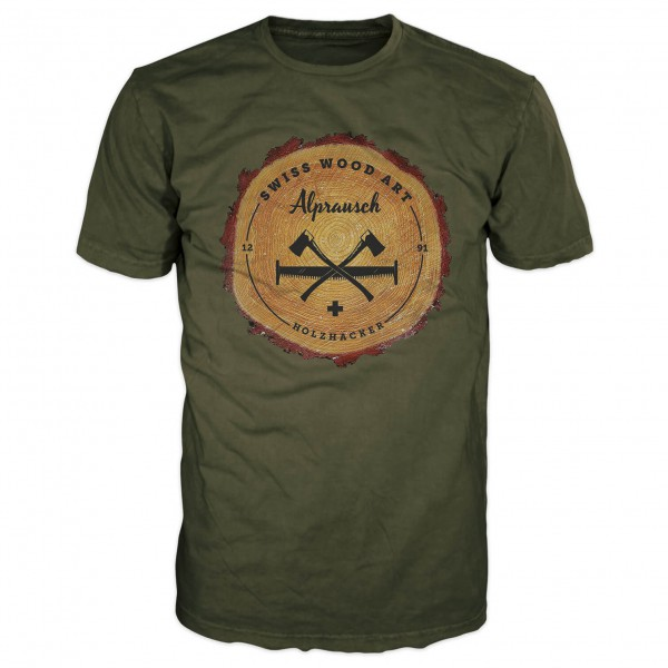Alprausch - Holzsager - T-shirt