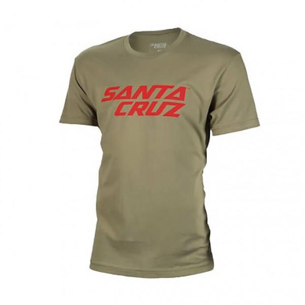 Santa Cruz - Stacked Logo Tee - T-paidat