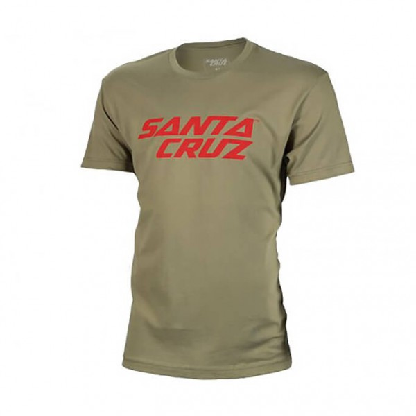 Santa Cruz - Stacked Logo Tee - T-shirt
