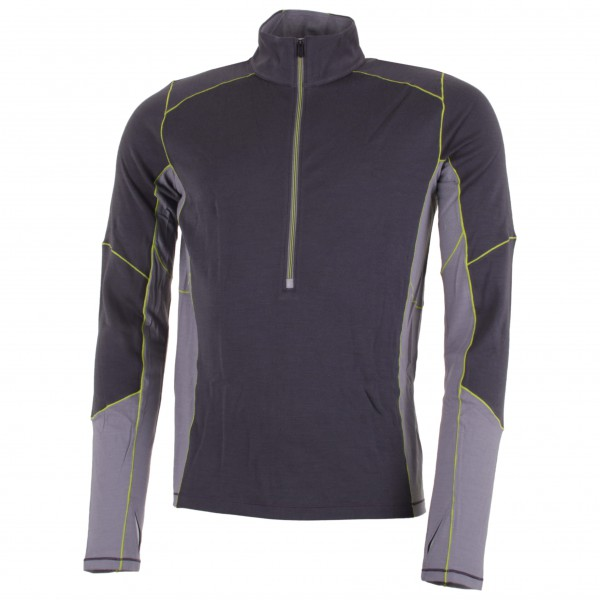 Smartwool - PhD Light Zip T - Laufshirt