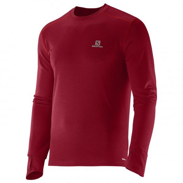 Salomon - Park LS Tee - Joggingshirt