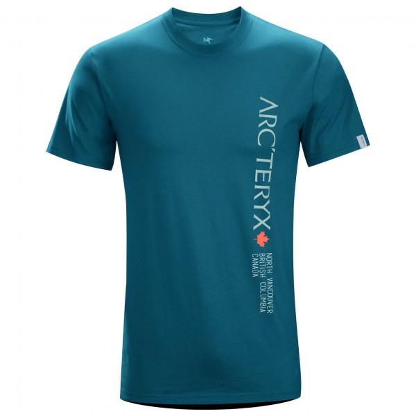 Arc'teryx - Vertical Word S/S Crew - T-paidat