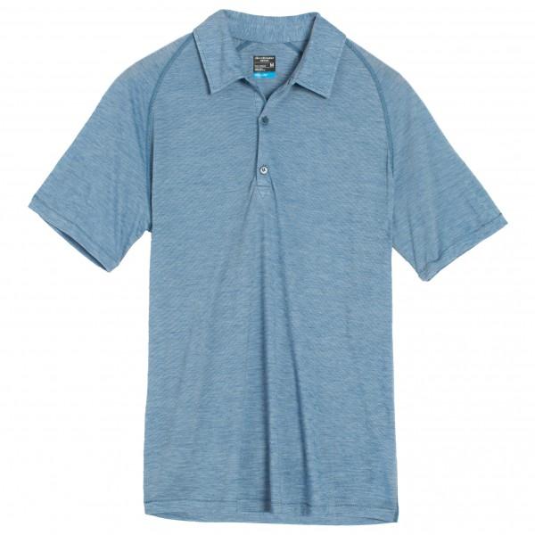 Icebreaker - Sphere S/S Polo Stripe - Poloshirt