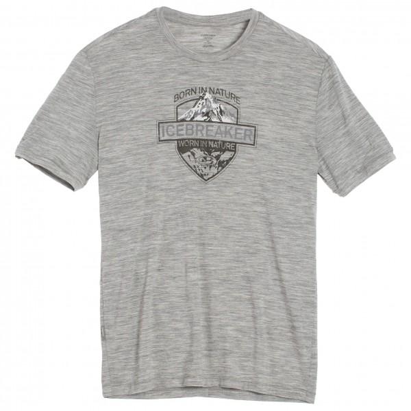 Icebreaker - Tech Lite S/S Crewe Alpine Crest - T-Shirt