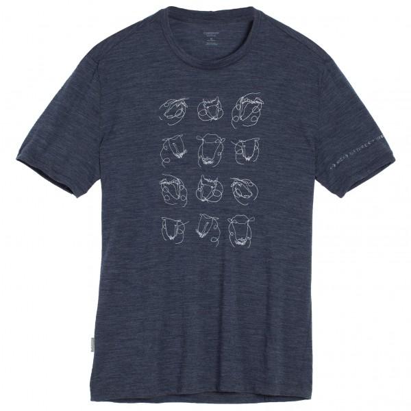 Icebreaker - Tech Lite S/S Crewe Heads Up - T-shirt
