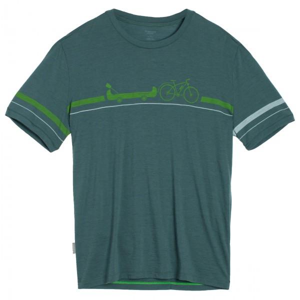 Icebreaker - Tech Lite S/S Crewe Road To River - T-shirt