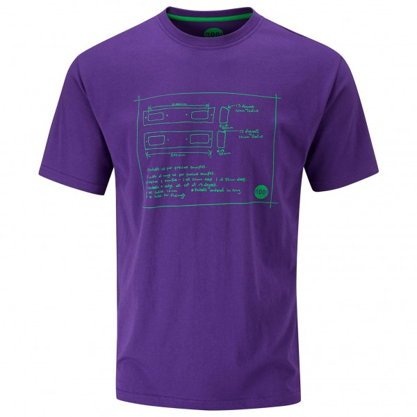 Moon Climbing - Diagram Tee - T-shirt