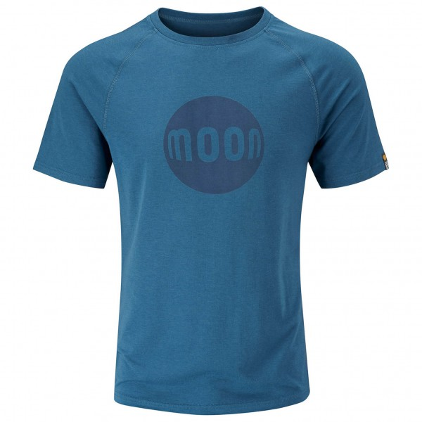 Moon Climbing - Moon Logo Tech Tee - T-shirt