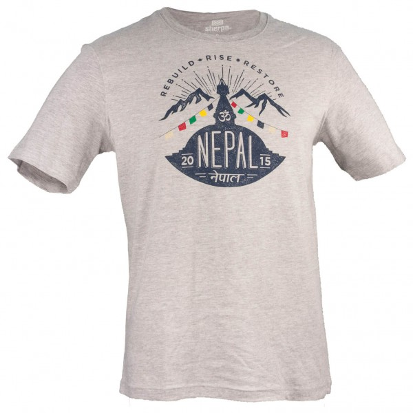 Sherpa - Nepal Rising Tee - T-paidat