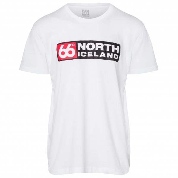 66 North - Logn T-Shirt Long Logo - T-Shirt