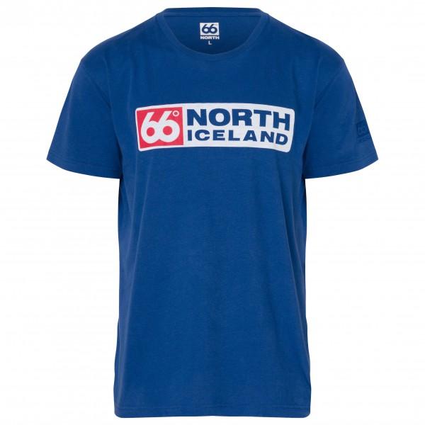 66 North - Logn T-Shirt Long Logo - Camiseta de manga corta