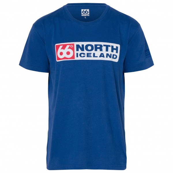 66 North - Logn T-Shirt Long Logo - T-paidat