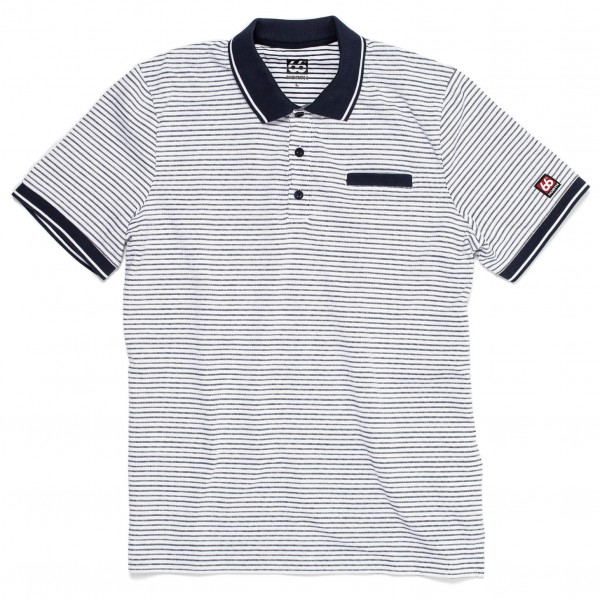 66 North - Setberg Stripe Polo Shirt - Polo-Shirt