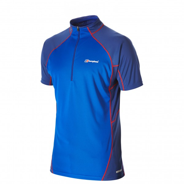 Berghaus - Vapour S/S Zip Baselayer - Running shirt