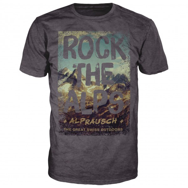 Alprausch - Rock The Alps T-Shirt - T-shirt