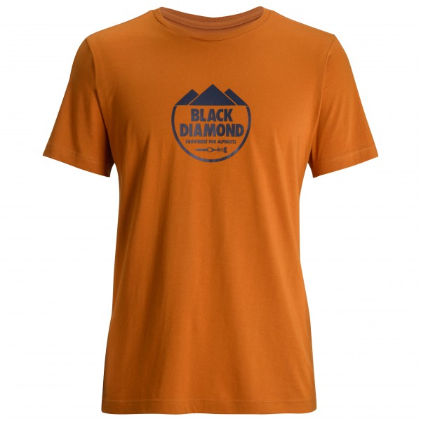 Black Diamond - S/S Alpinist Crest Tee - T-paidat