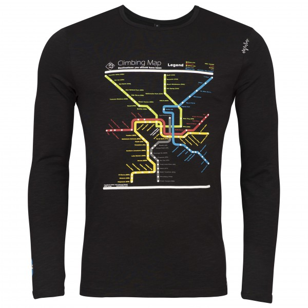 Chillaz - L/S Street Map - Longsleeve