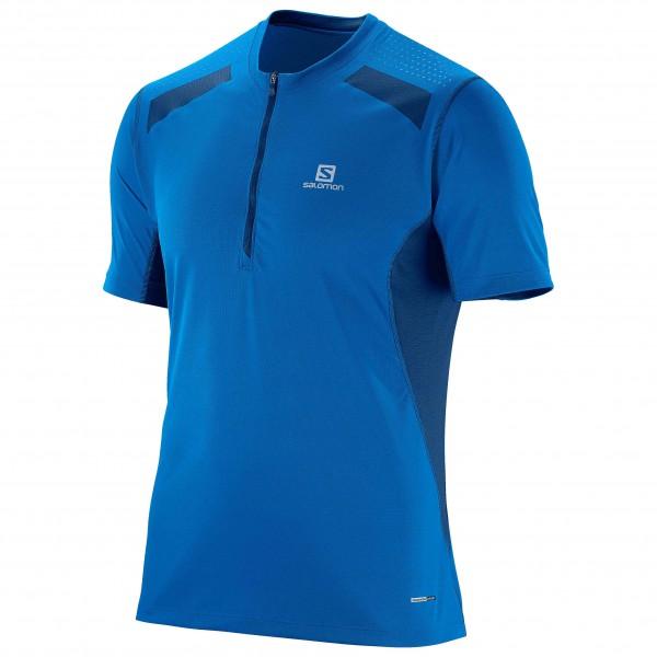 Salomon - Fast Wing 1/2 Zip S/S Tee - T-shirt de running