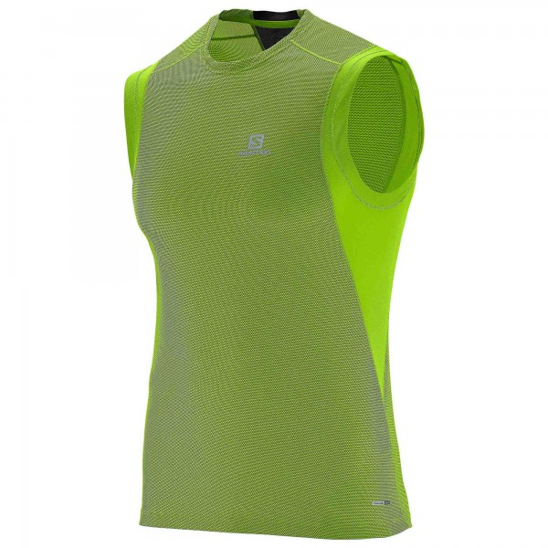 Salomon - Trail Runner Sleeveless Tee - Joggingshirt