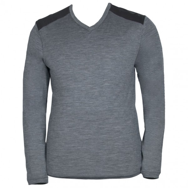 Alchemy Equipment - Single Jersey Merino L/S Vee 150GSM