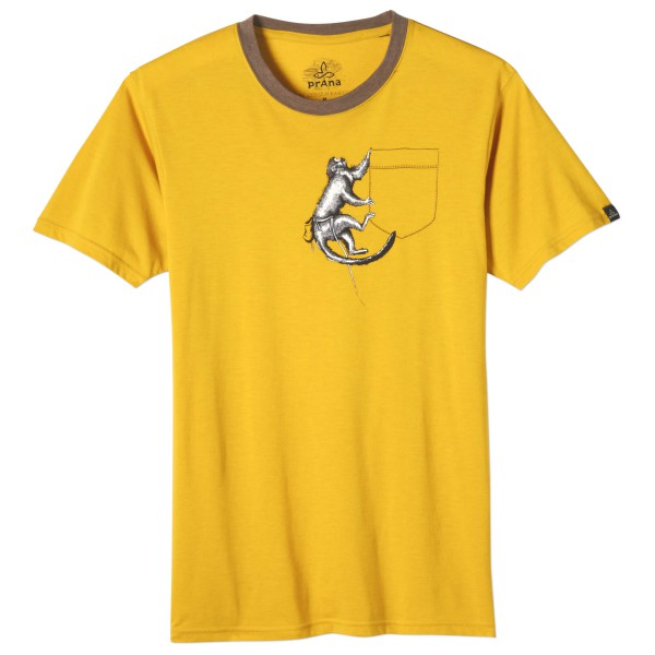Prana - Silly Monkey Ringer - T-shirt