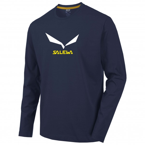 Salewa - Solidlogo 2 Cotton L/S Tee - Manches longues