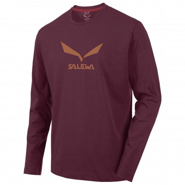Salewa - Solidlogo 2 Cotton L/S Tee - Long-sleeve