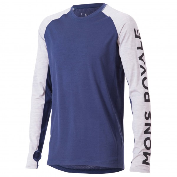 Mons Royale - Supa Tech L/S - Joggingshirt