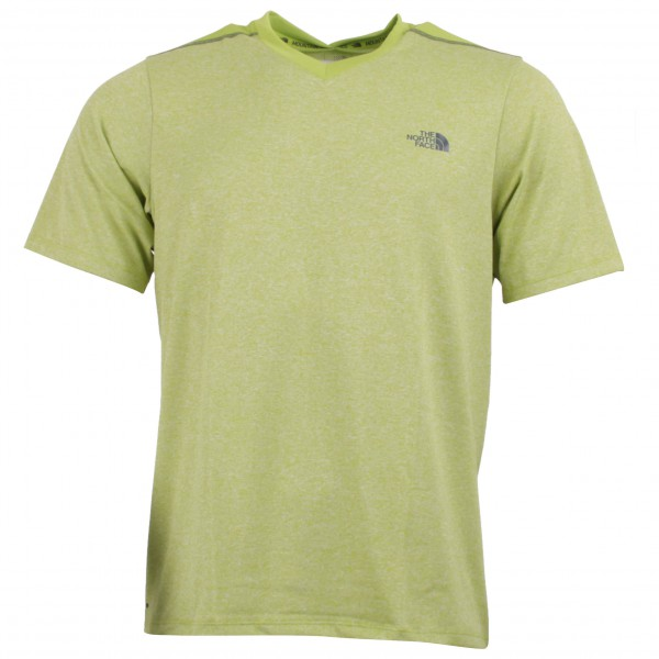 The North Face - Reactor S/S V-Neck - Running shirt