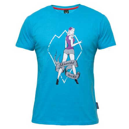 Steinwild - Pin-Up - T-shirt