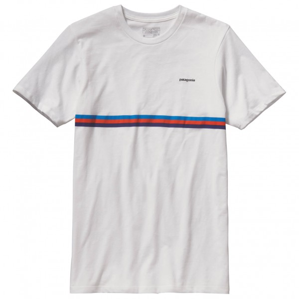 Patagonia - Fitz Roy Bar Cotton/Poly T-Shirt - T-paidat