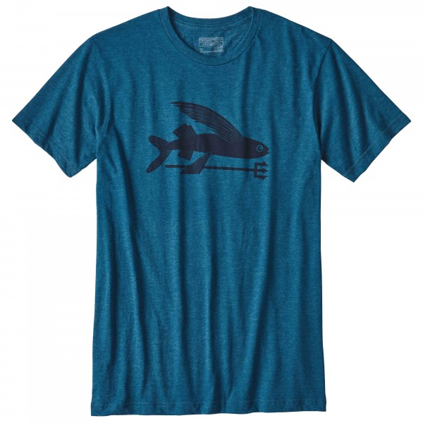Patagonia - Flying Fish Cotton/Poly T-Shirt - T-paidat