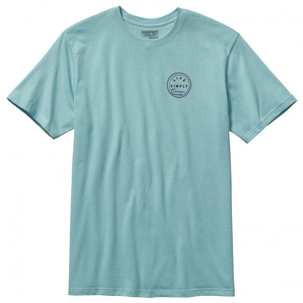 Patagonia - Live Simply Hook Cotton T-Shirt - T-paidat