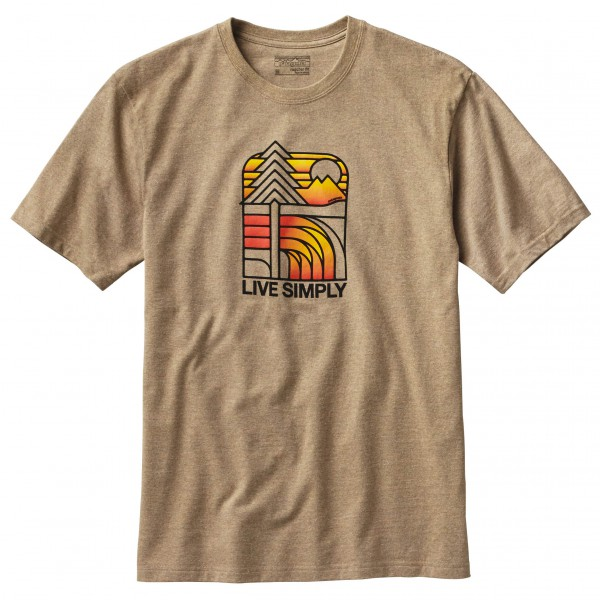 Patagonia - Live Simply Landscape Responsibili-Tee - T-shirt
