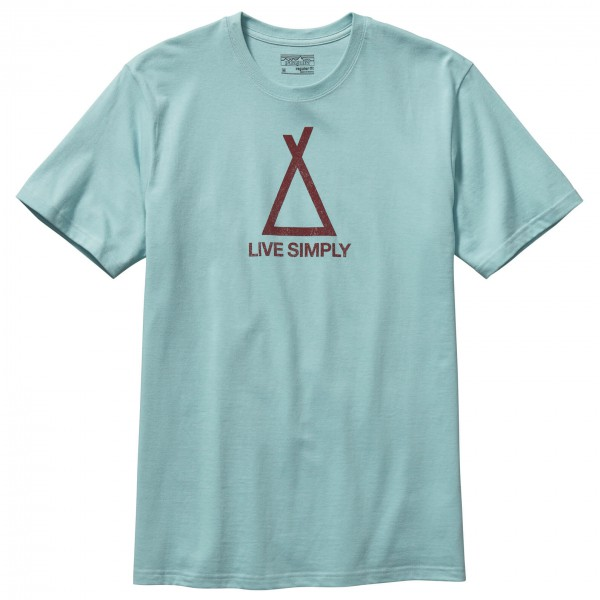 Patagonia - Live Simply Tent Life Cotton T-Shirt - T-paidat