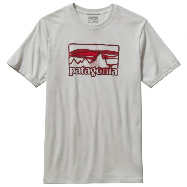 Patagonia - Spruced '73 Logo Cotton T-Shirt - T-paidat