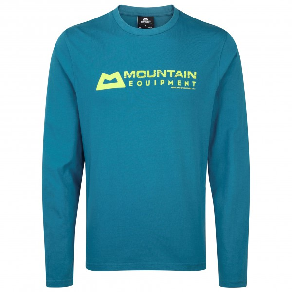 Mountain Equipment - Branded L/S Tee Auslaufmodell